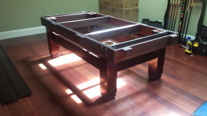 Correctly performing pool table installations, Gary Indiana